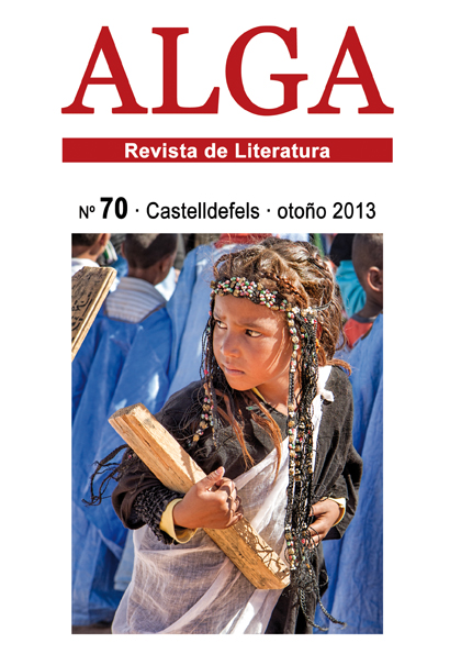 ALGA 70 cubierta, 2013