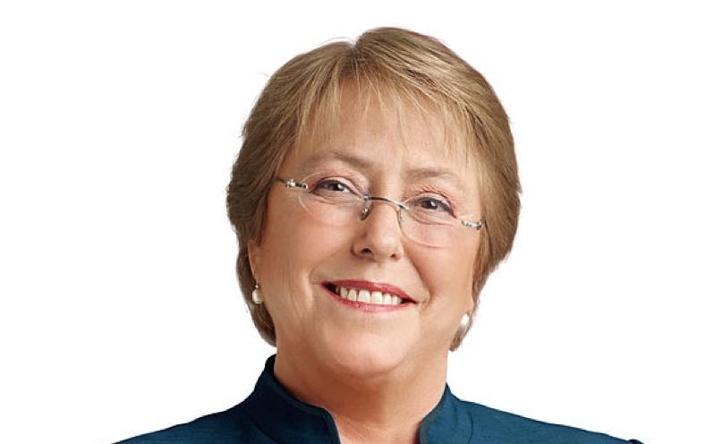 Bachelet reelecta con el 62% de los votos