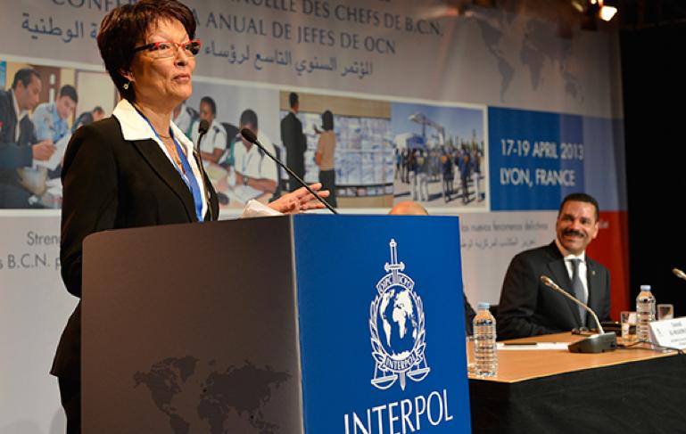 INTERPOL felicita a su Presidenta por su nombramiento al frente de la Policía Judicial francesa