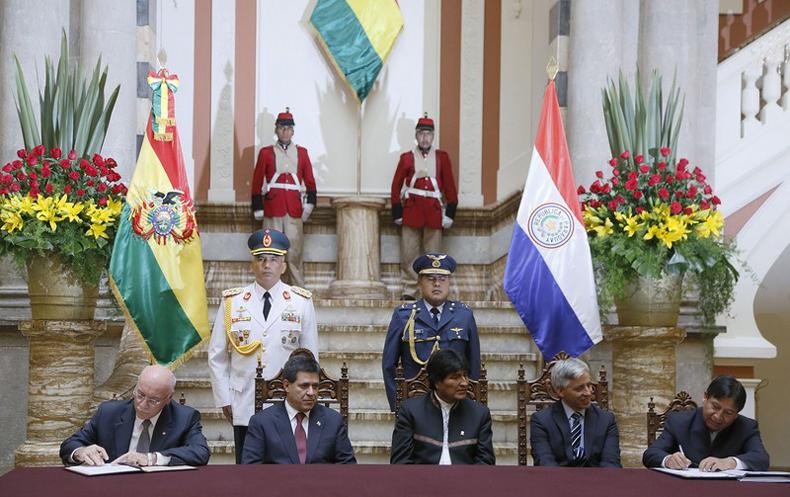 Paraguay y Bolivia