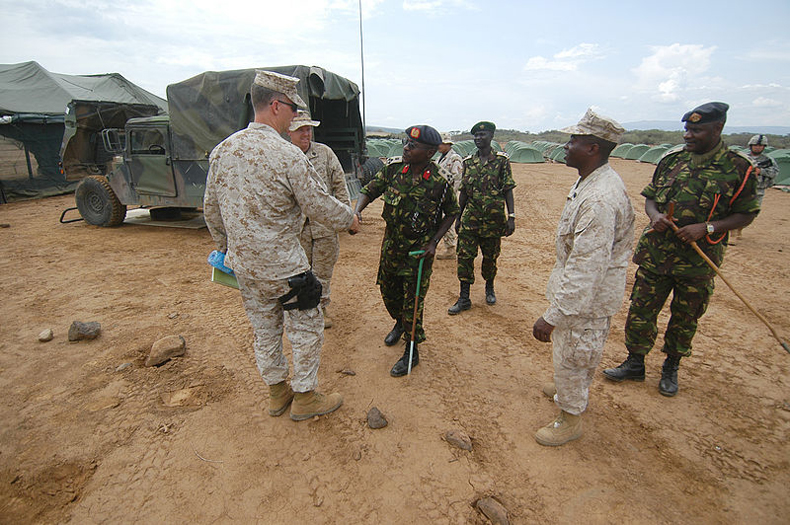 Kenya defense force