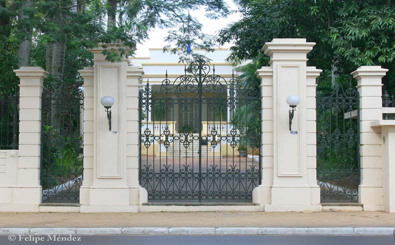 Presidential palace Asunción Paraguay