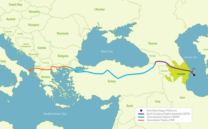 Escáneres láser y sensores para proteger el crucial gasoducto de Trans-Anatolia