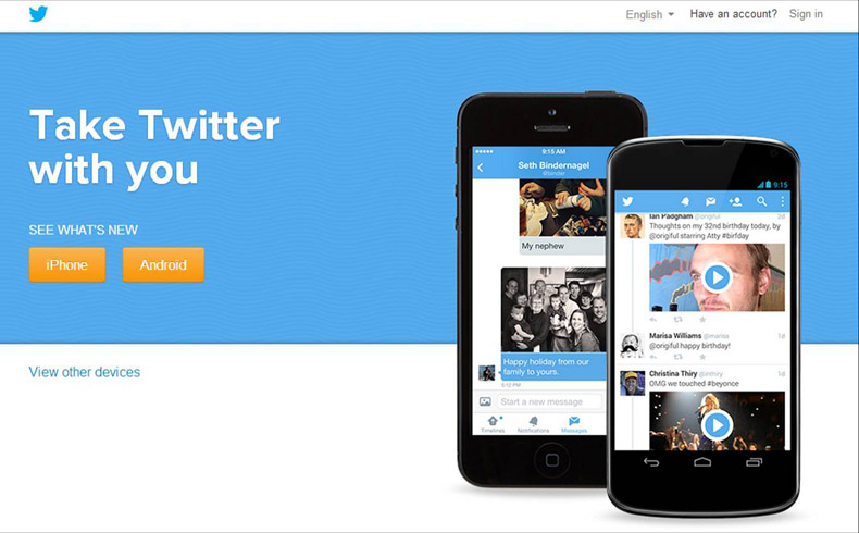 Twitter; la audiencia también se mide en 140 caracteres