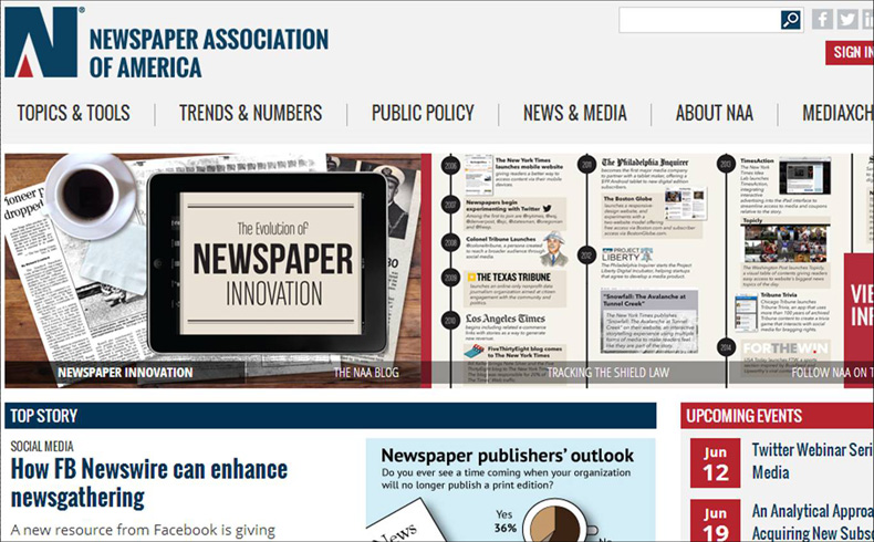 newspaper association of america
