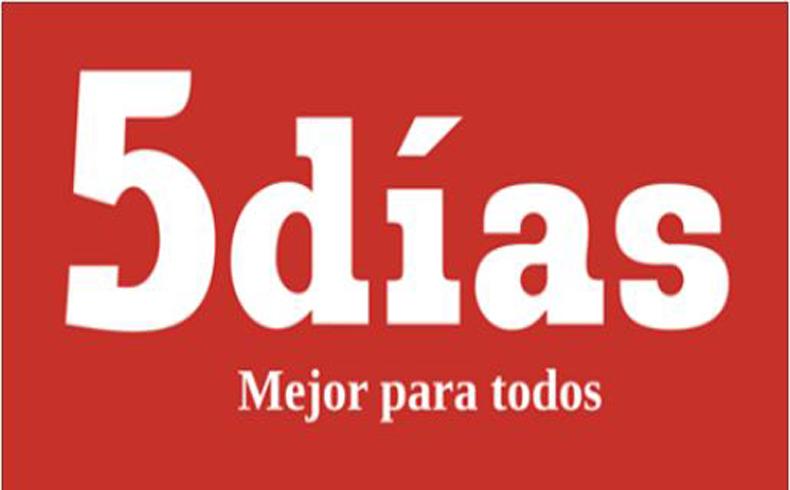 Diario 5 Dias, Logo, 2014. copy 2.