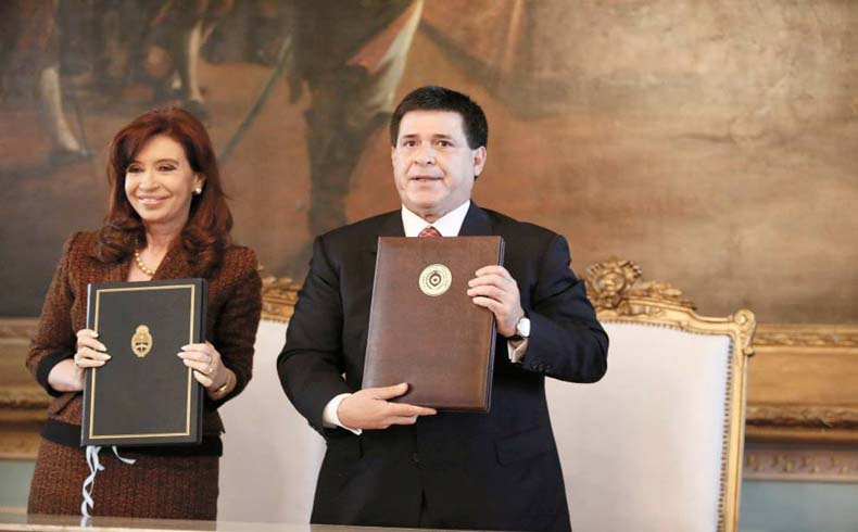 HC and CFK in Asuncion.