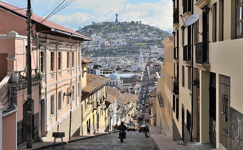 Quito_calle_García_Moreno Ecuador