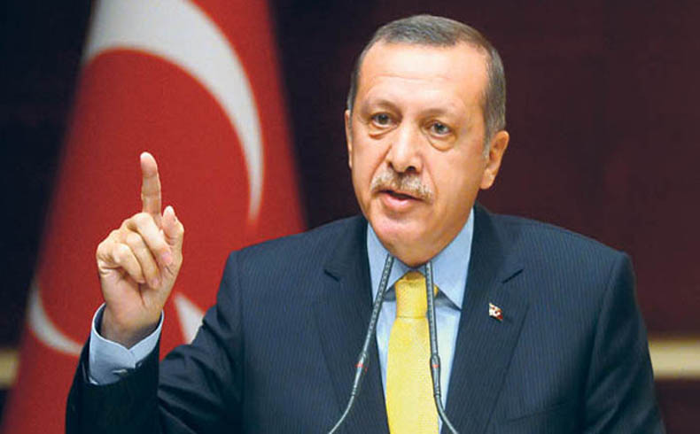 Presidente de Turquía Recep Tayyip Erdoğan