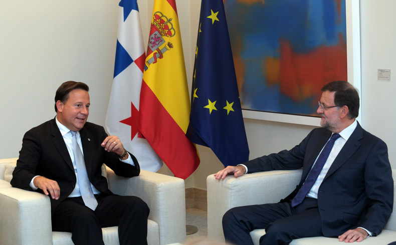 Varela Rajoy, meeting in Spain.