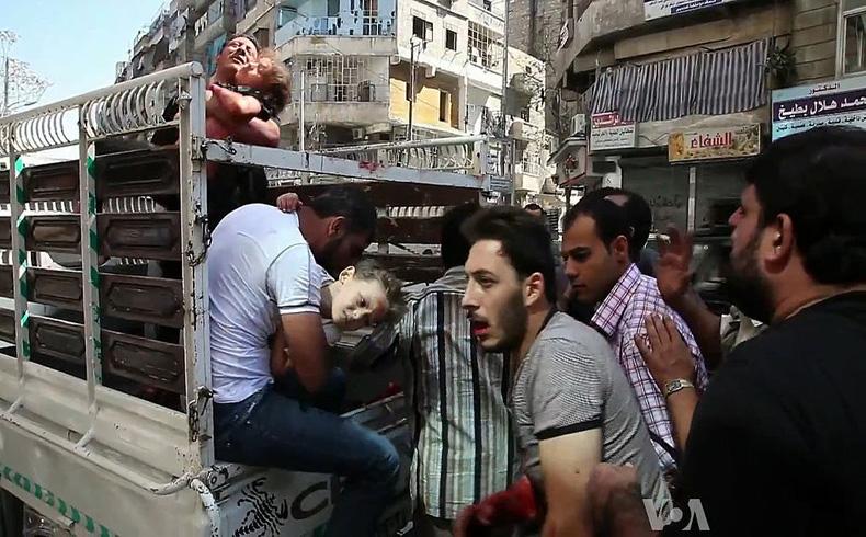 Una poderosa explosión mata a 28 líderes rebeldes en Siria