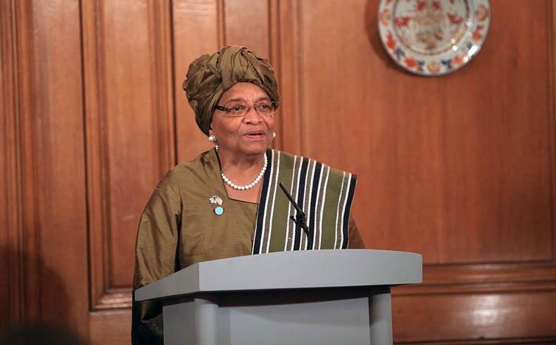 Ellen Johnson Sirleaf Liberia