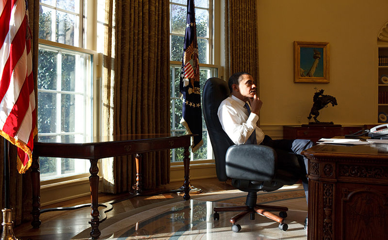 Barack Obama Oval Office