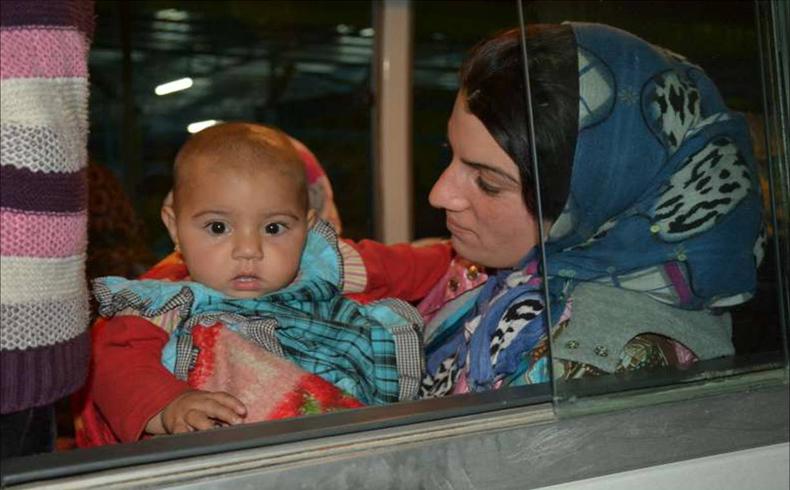Kobani refugees