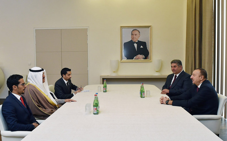 Kuwait delegation in Baku.