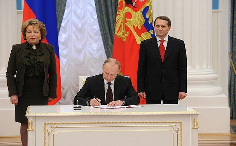 Vladimir Putin Crimea
