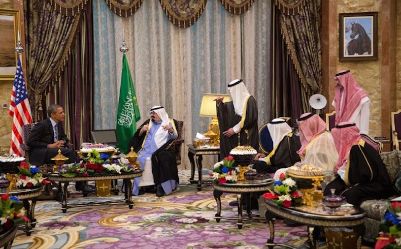 King Abdullah Obama