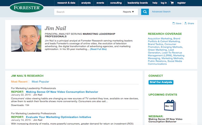 Jim Nail Forrester