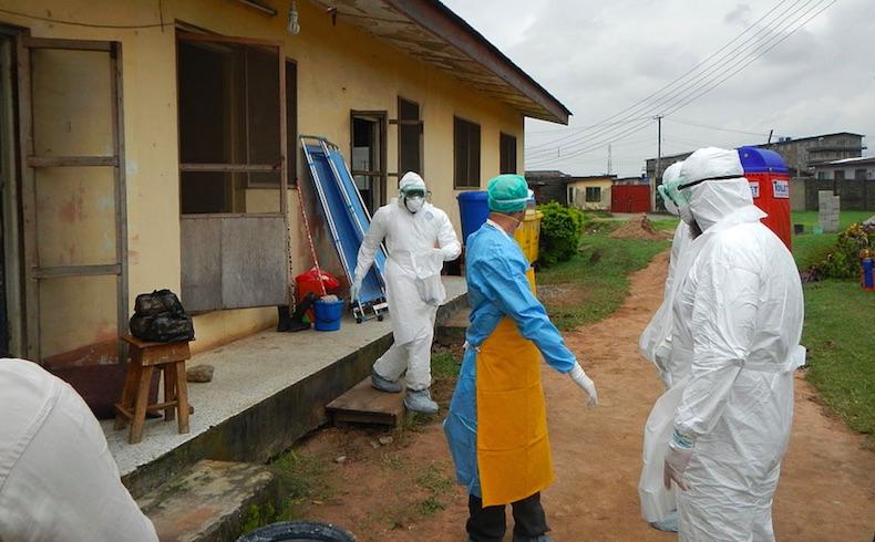 Ebola outbreak 2015