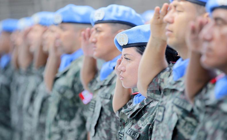Nuevo contingente militar peruano en MINUSTAH