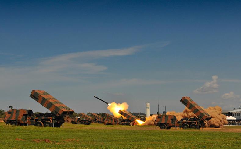 Brasil artillery