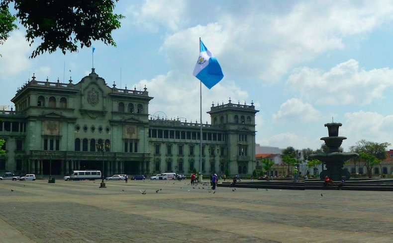Palacio nacional Guatemala