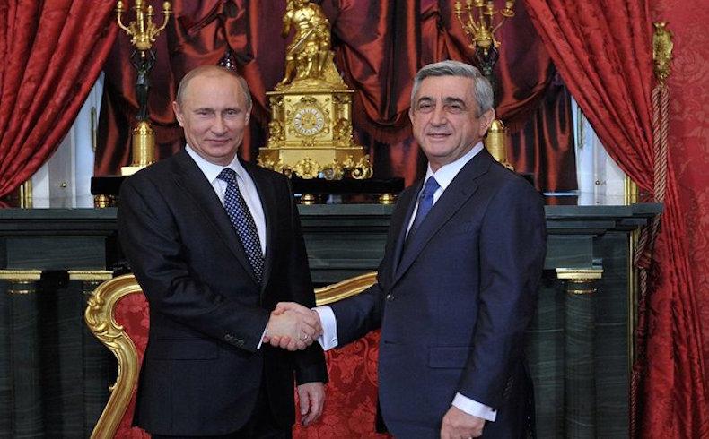 Putin y Sargsyan