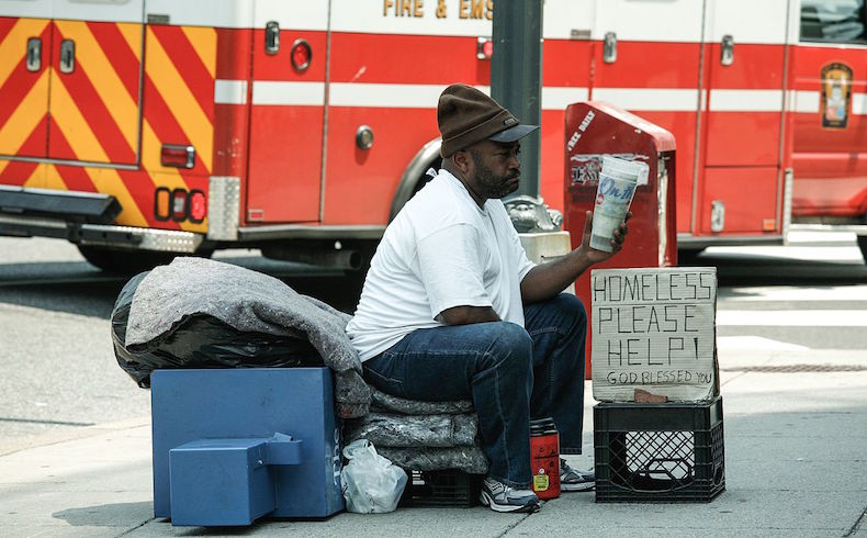 homeless - poverty in us