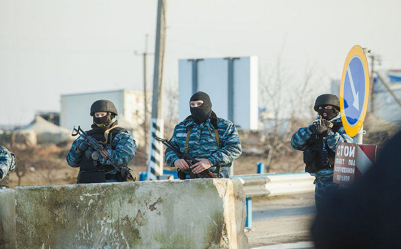 Berkut annexation of Crimea