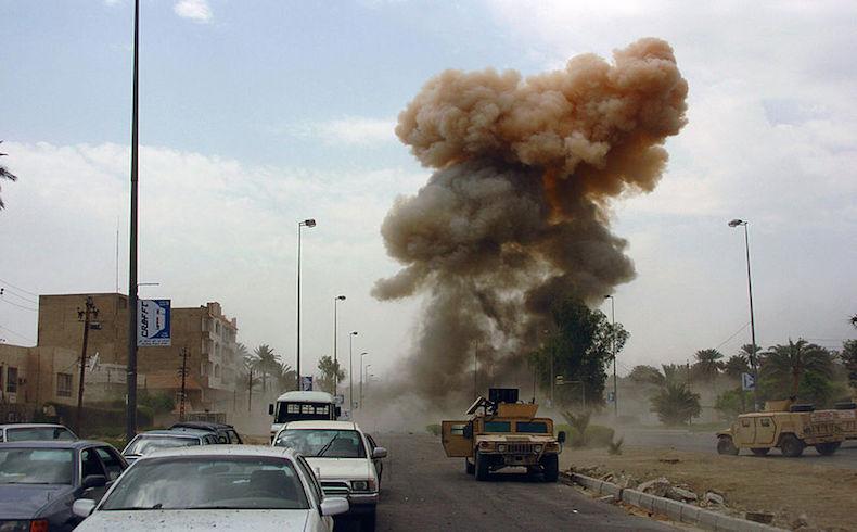 Los coches-bomba son una táctica frecuente de los insurrectos en Irak.