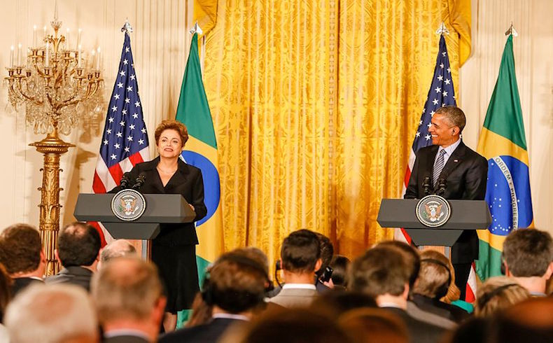 Rousseff Obama