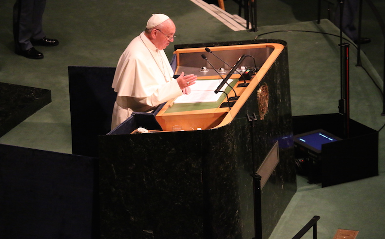 Pope at UN3