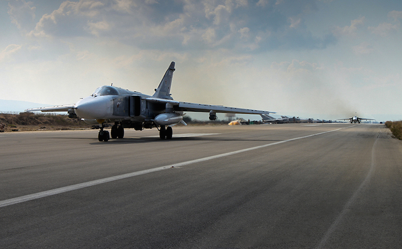 Russian plane Sukhoi-25