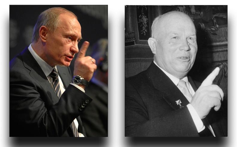 Putin Jruschev