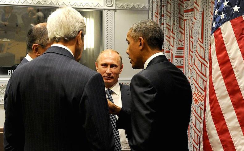 Obama pide a Rusia detener campaña aérea contra opositores moderados de Siria