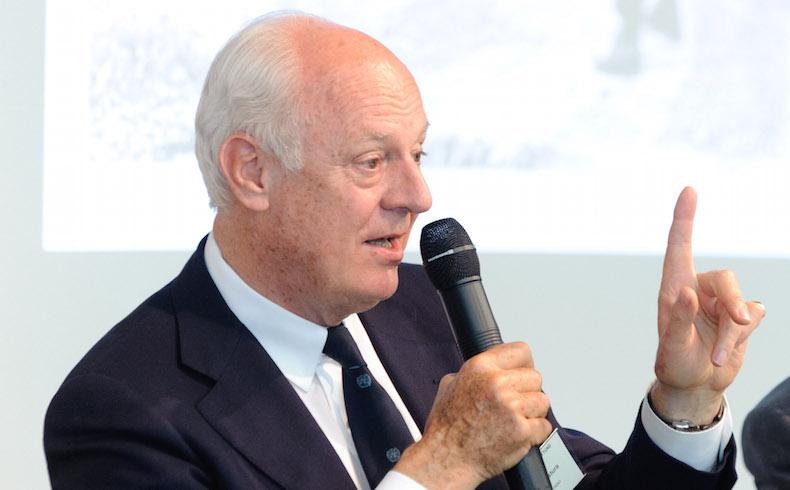 Staffan de Mistura (Sonderbeauftragter des Generalsekretärs der Vereinten Nationen für Afghanistan)
