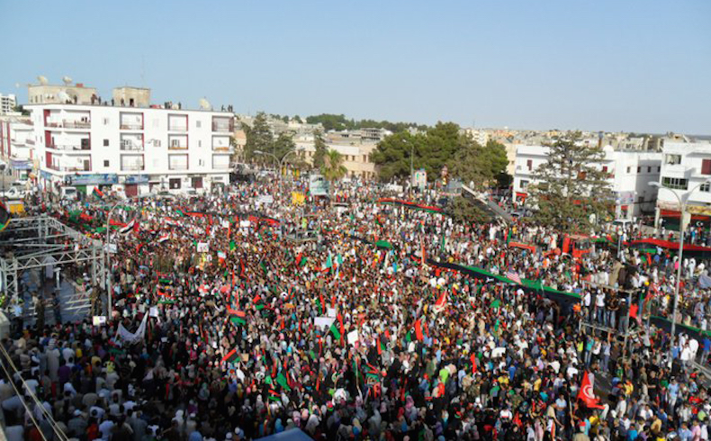 Demonstration in Libya