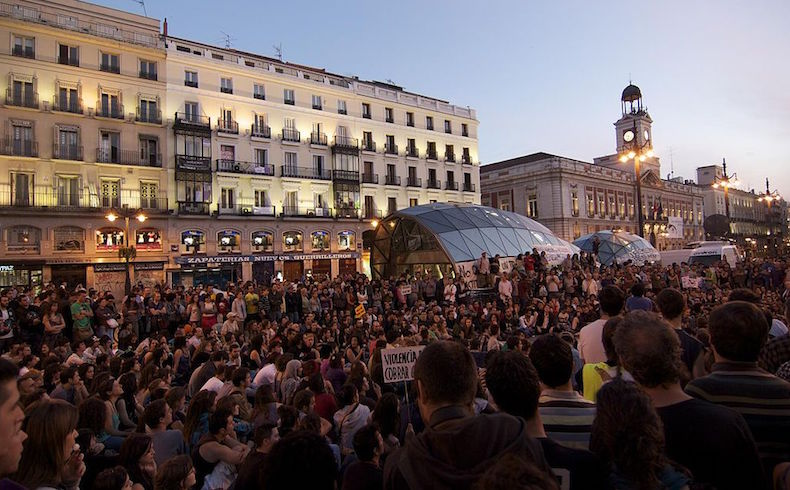 Manifestacion en Madrid - Unemployment
