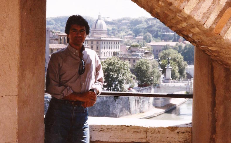Ricardo Costa en Roma, Italia