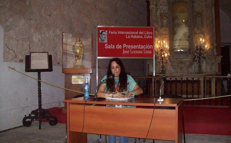 Marina Kohon en Cuba en 2016