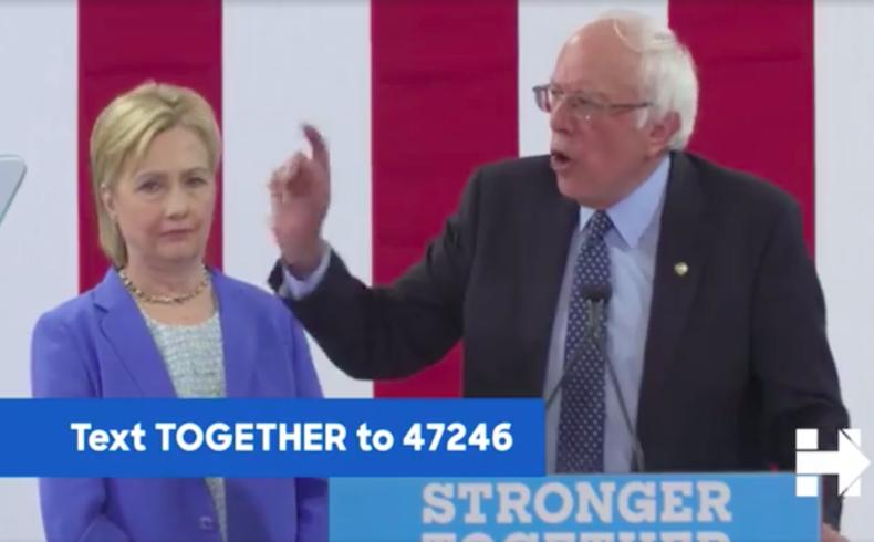 Bernie Sanders Clinton