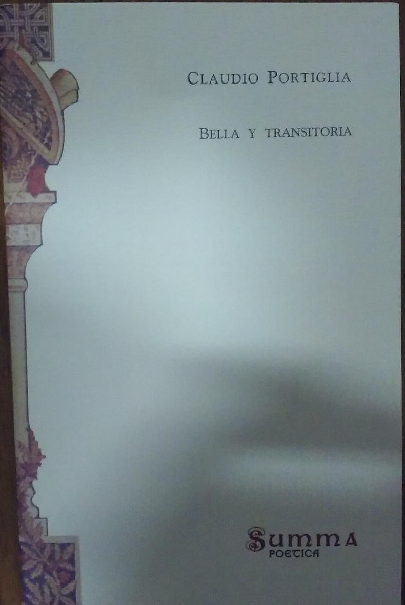 """""""Bella y transitoria"""" (2016)"""