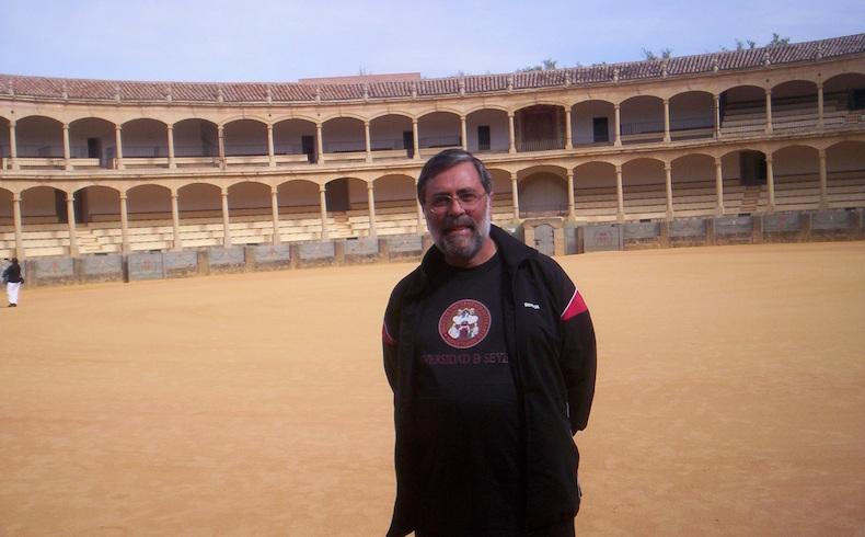 Guillermo E. Pilia en Rond a, Málaga, España, 2012