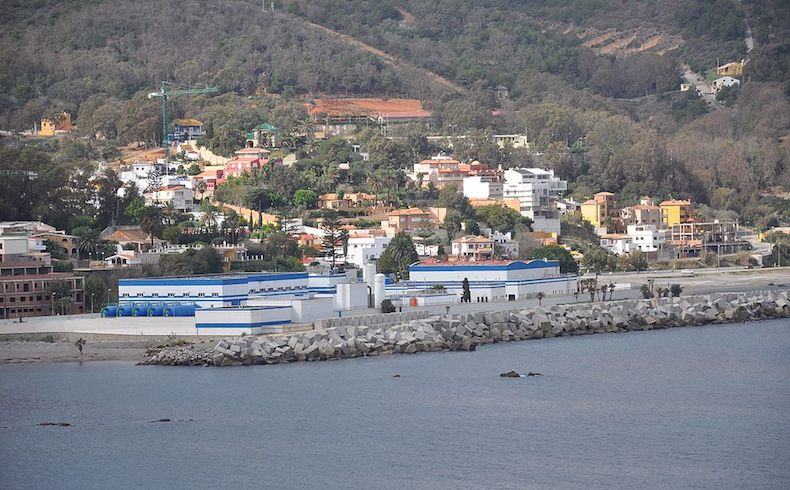 Desalination plant in Spain