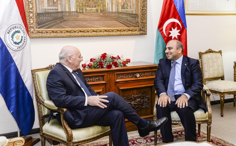 Gobierno Paraguayo fortalece la cooperación con Azerbaiyán