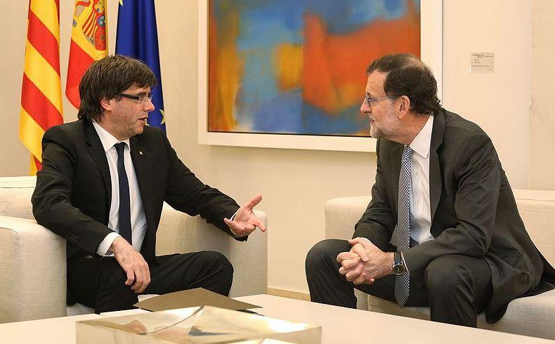 Carles Puigdemont i Mariano Rajoy