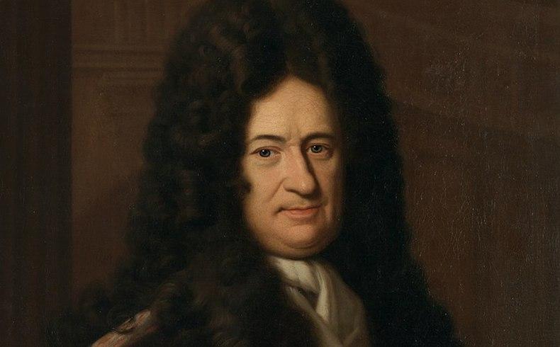 GG 558, Bernhard Christoph Francke (gest. 1729), Gottfried Wilhelm Leibniz, Leinwand 81 x 66 cm
