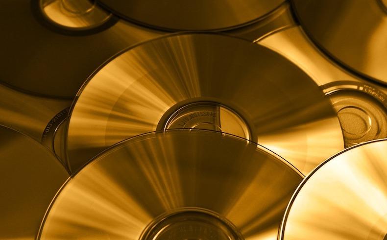 Discos de cuarzo para almacenar información
