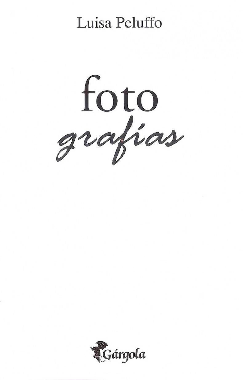 Libro Peluffo 1 - Foto grafías